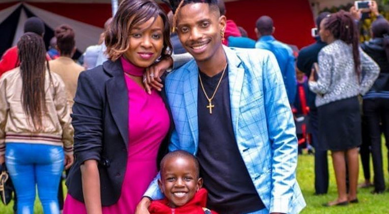 Hilarious reactions to Eric Omondi's picture with Maribe and son Zahari