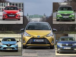 Toyota Yaris, Skoda Fabia, Renault Clio, Hyundai i20, Dacia Sandero – pięć popularnych aut w segmencie B