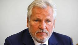 Aleksander Kwaśniewski ma poważne powikłanie po COVID-19