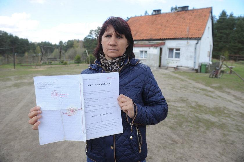 Pożyczyła 600 zł i straciła dom