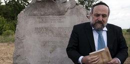 Naczelny rabin Polski: negowanie Jedwabnego jest dla nas jak negowanie Katynia dla was