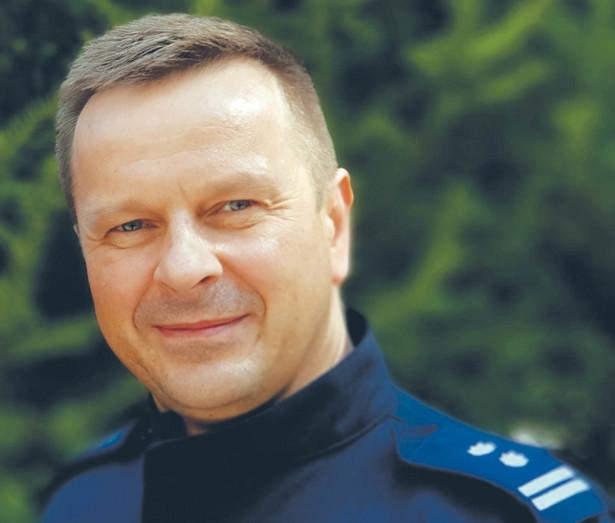 Mł. insp. Mariusz Lenczewski, dyrektor biura do walki z cyberprzestępczością Komendy Głównej Policji