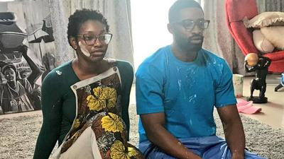 A first-look is out! Check out Ric Hassani, Efa Iwara, Uzoamaka Aniunoh in 'When Are We Getting Married'