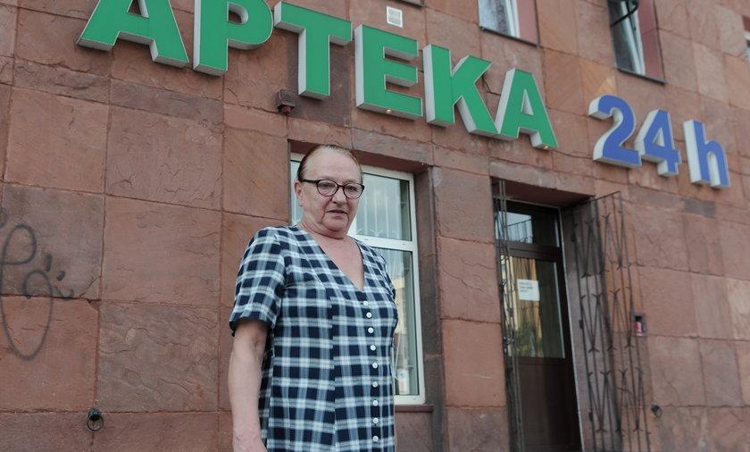 Lidia Bukowska ( 66 l.) emerytka z Warszawy