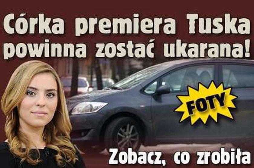 Córka premiera Tuska powinna zostać ukarana! Zobacz, co zrobiła FOTY