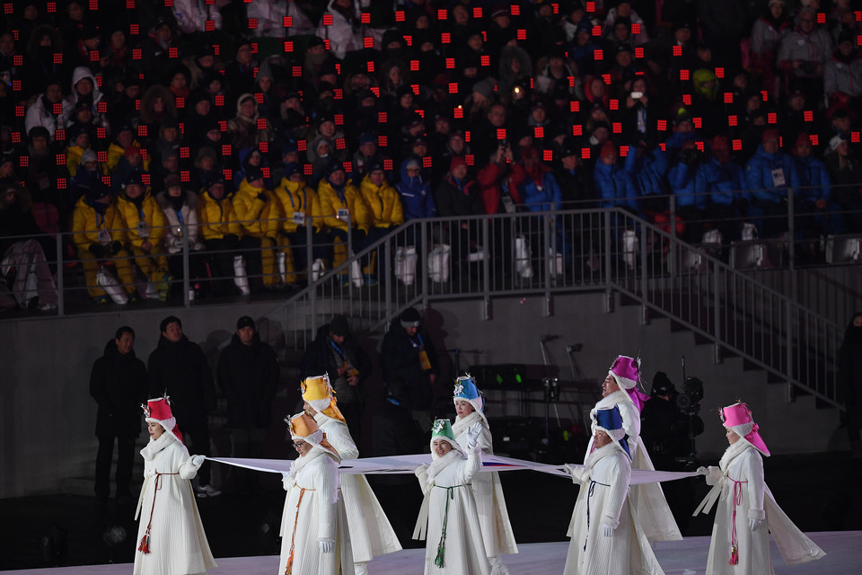 epa06508678 - SOUTH KOREA PYEONGCHANG 2018 OLYMPIC GAMES (Opening Ceremony - PyeongChang 2018 Olympic Games)