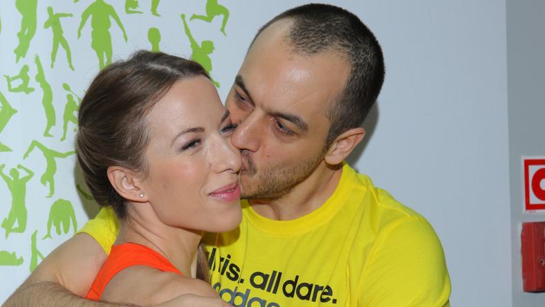 Ewa Chodakowska z mężem