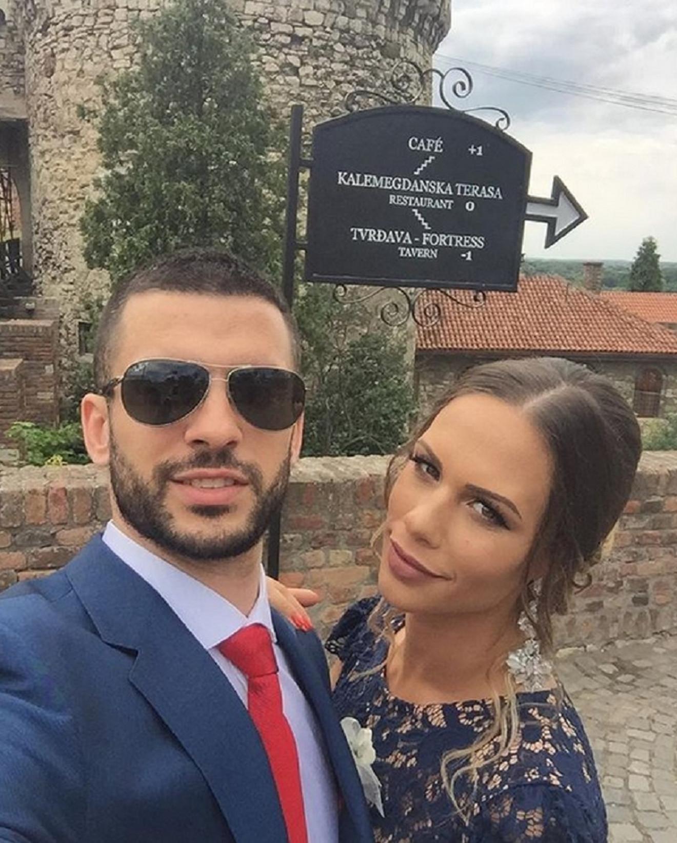 Branko Lazić i njegova lepša polovina