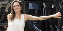 Wychudzona Jolie. Przy dzieciach odzyskuje uśmiech