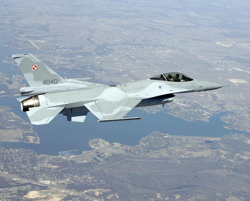 Poland F-16 First Flight 1