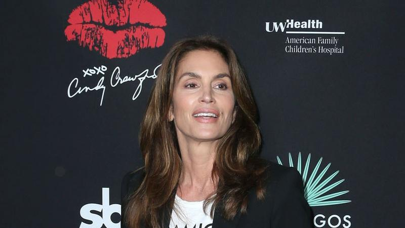 Cindy Crawford na imprezie w Los Angeles