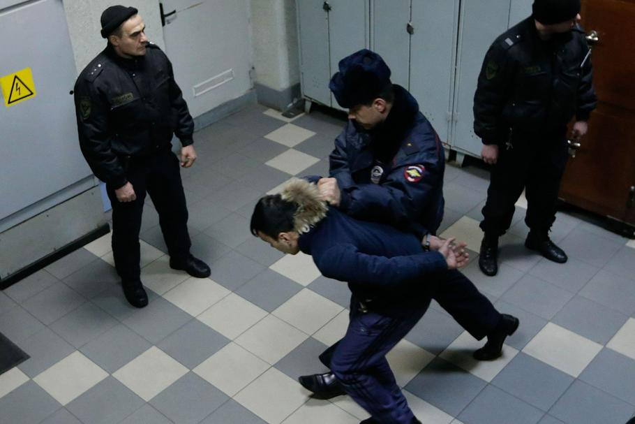 Suspected in involvement in organizing explosion in St. Petersburg metro face the court