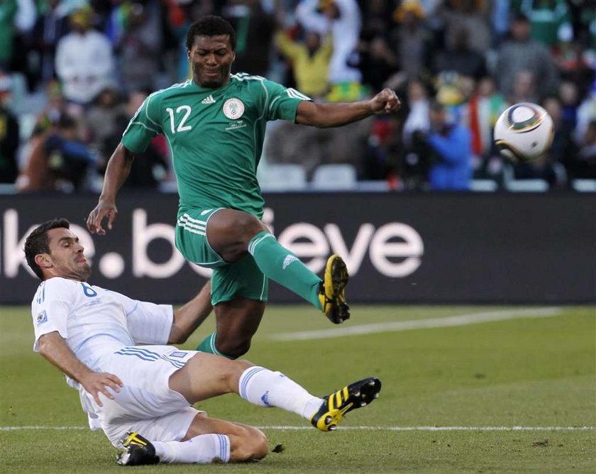 Gol byłego piłkarza Wisły nie pomógł Nigerii