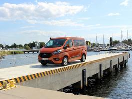 Ford Transit Custom Nugget – M2 na kołach