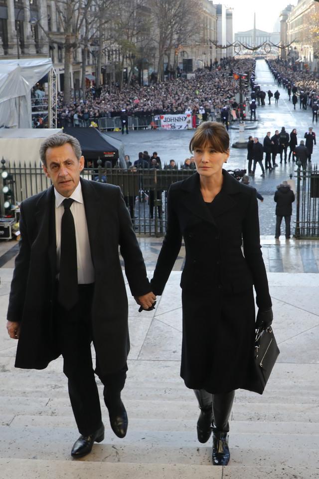 Nikola Sarkozi i Karla Bruni u Parizu 2017.