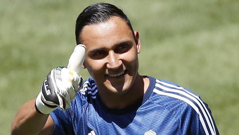 Navas jako piłkarz roku 2014 w strefie CONCACAF