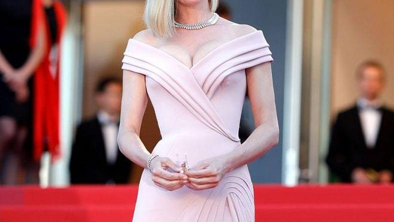 Uma Thurman at the 70th Annual Cannes Film Festival in Cannes, France