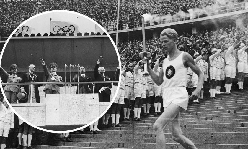 Pierwsza sztafeta z ogniem olimpijskim miała jedno zadanie: Pokazać potęgę Niemiec