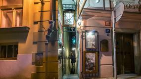 Vinárna Čertovka - (prawie) najwęższa ulica świata