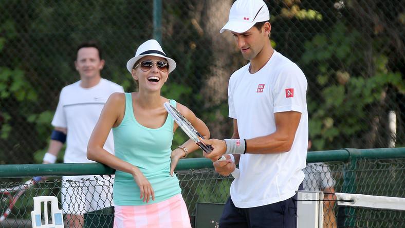 Jelena Ristic i Novak Djokovic
