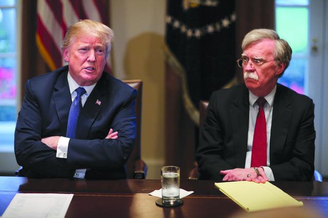 Džon Bolton Donald Tramp