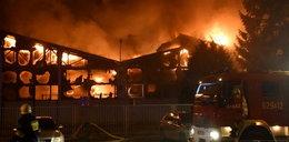 Pożar zakładu meblowego w Wielkopolsce