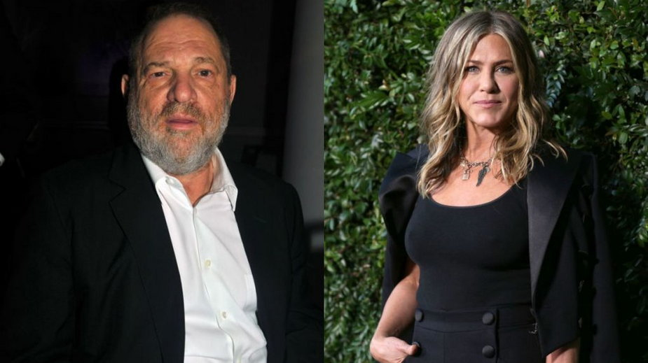 Jennifer Aniston i Harvey Weinstein