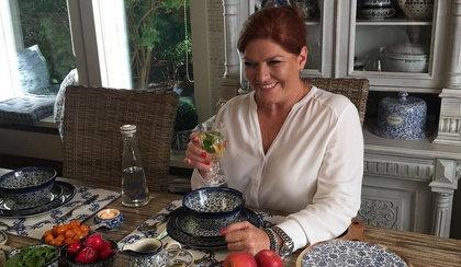 Katarzyna Dowbor pokazała, jak mieszka. Jak wygląda podwarszawski dom dziennikarki?