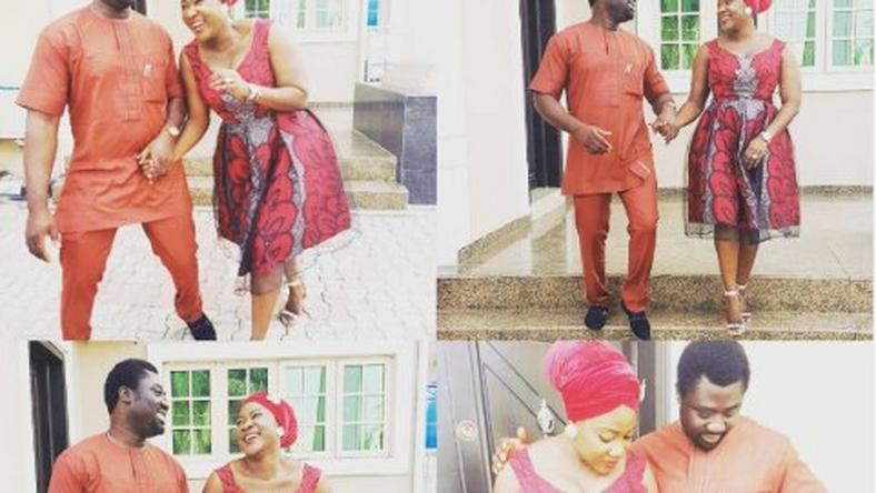 Mercy Johnson and hubby, Prince Okojie