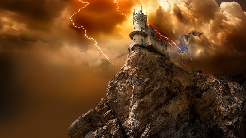 Jaskółcze Gniazdo - najsłynniejszy zamek na Krymie