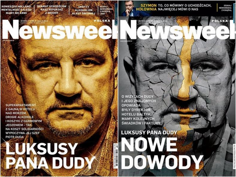 Okładki Newsweeka