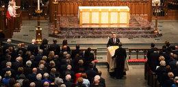Pogrzeb byłej pierwszej damy. Prezydent nie dotarł, ochroniarze nie chcieli odejść od trumny