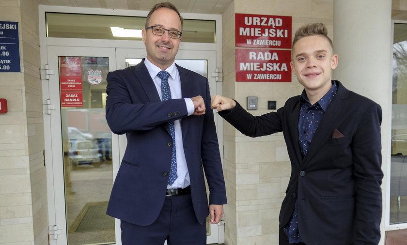 16-latek z Zawiercia został wiceprezydentem! To ewenement w Polsce!
