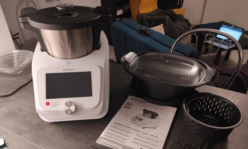Test robota kuchennego z Lidla Monsieur Cuisine