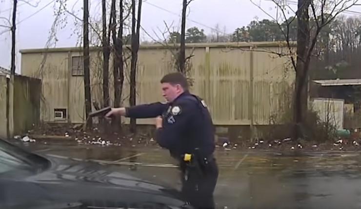 Arkanzas policajac, pucnjava, sc youtube