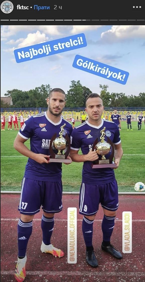 Silađi i Lukić za trofejima za najbolje strelce prošle sezone