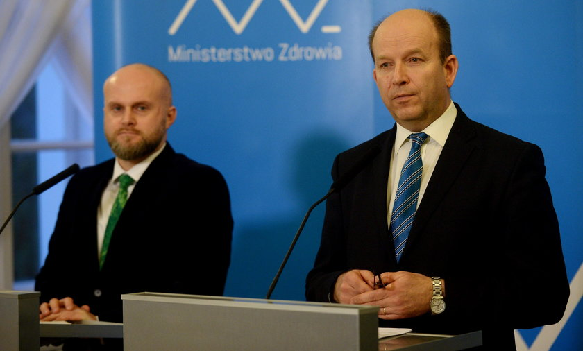 Minister Konstanty Radziwiłł i wiceminister Krzysztof Łanda
