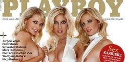 """Trzy sportsmenki w """"Playboyu"""""""