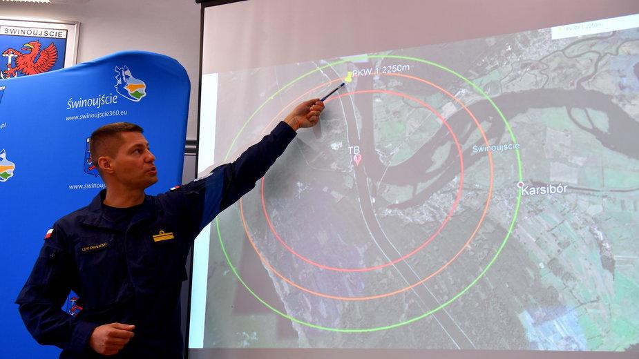 Planowanie operacji wyciągnięcia bomby Tallboy