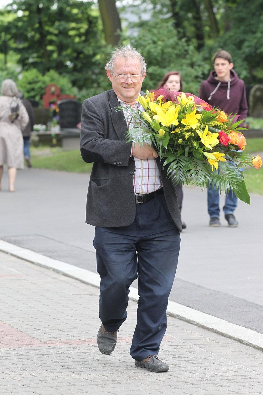 Adam Michnik na pogrzebie Jaruzelskiego