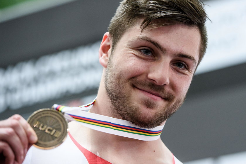 Mateusz Rudyk (25 l.) jest dziś najlepszym polskim kolarzem torowym