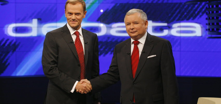 """Szokujące słowa Kaczyńskiego na temat Tuska i tego, jak miał traktować kobiety w Sejmie. """"Kompletnie nad sobą nie panował"""""""