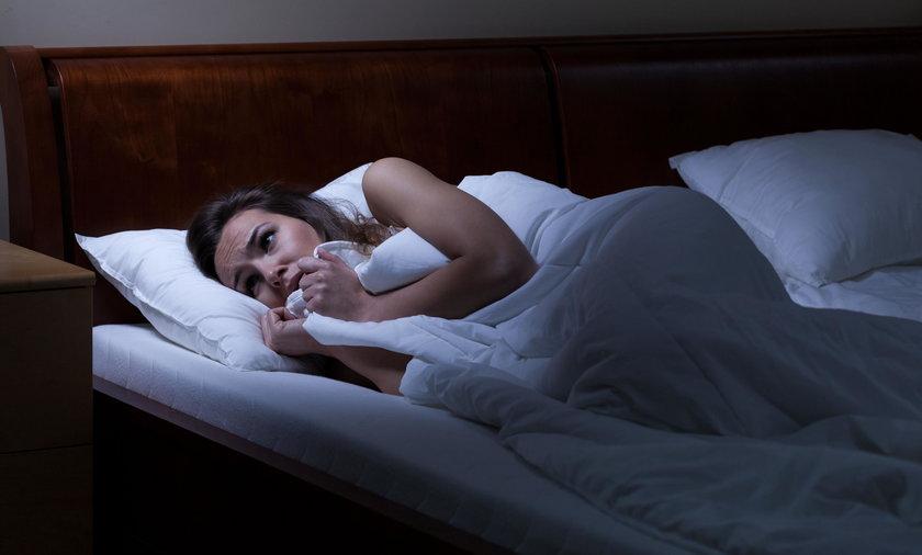 Koszmary nocne mogą pojawić się przez zbyt wysoką temperaturę