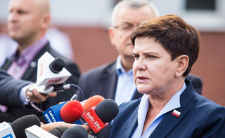 'Sytuacja wygląda bardzo dobrze'. Beata Szydło o usuwaniu skutków nawałnic w Wielkopolsce