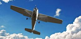 Zderzenie w powietrzu 2 samolotów. Zginął pilot i dziecko