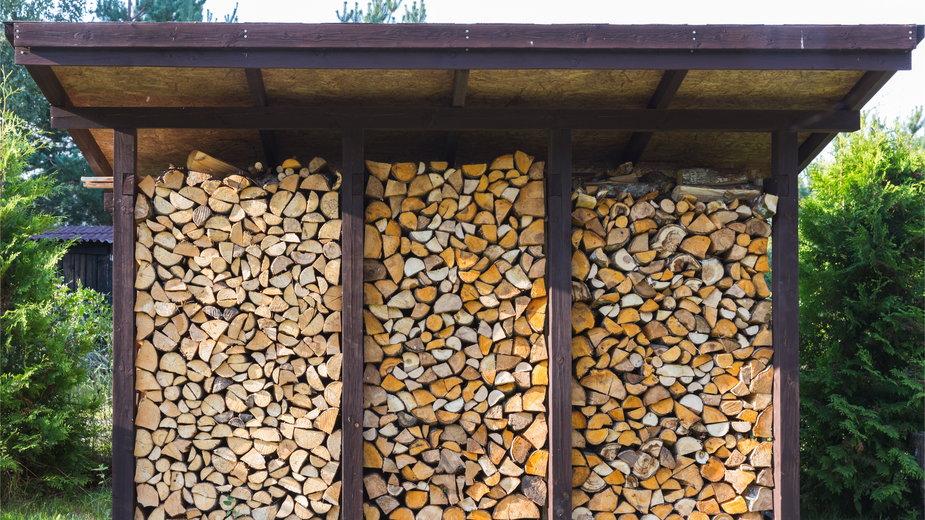 Drewutnia pozwala na prawidłowe przechowywanie drewna - Olga Ionina/stock.adobe.com