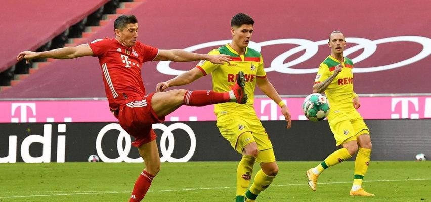 Robert Lewandowski zdobył dwie bramki z FC Koeln. Zobacz trafienia Polaka