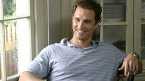 Zaszczycony Matthew McConaughey