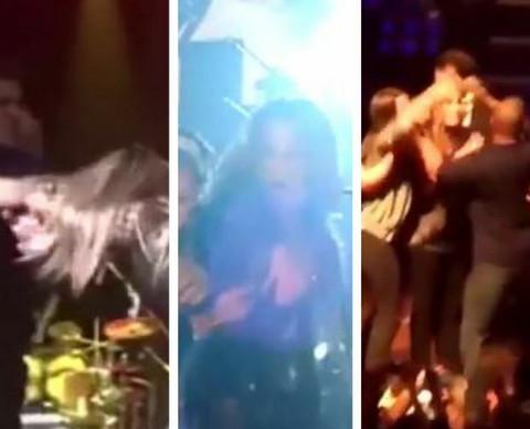 PREDSTAVNICA BRITANIJE NIJE JEDINA: Ovim poznatim pevačima su prekinuli nastupe na BRUTALAN NAČIN! (VIDEO)