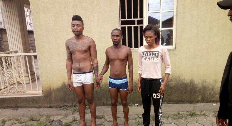The suspects in murder of Jumia man